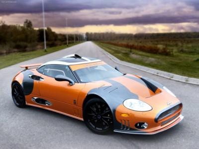 Spyker C8 Laviolette LM85 2009 poster #547622
