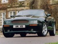 Aston Martin V8 Coupe 1996 poster