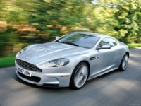 Aston Martin DBS Lightning Silver 2008 poster