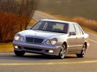 Mercedes-Benz E320 2002 poster