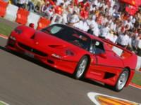 Ferrari F50 1995 poster