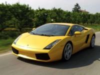 Lamborghini Gallardo 2003 poster