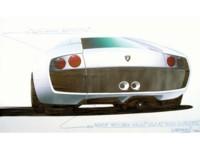 Lamborghini Murcielago Sketch 2002 poster