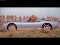Lamborghini Miura Roadster 1968 poster