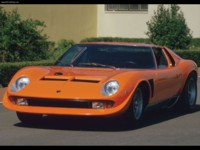 Lamborghini Miura Jota 1970 poster