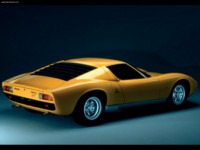 Lamborghini Miura SV 1971 poster