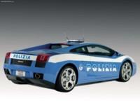 Lamborghini Gallardo Police Car 2004 poster