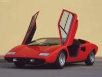 Lamborghini Countach LP 400 1973 poster