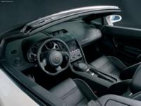 Lamborghini Gallardo Spyder 2006 poster