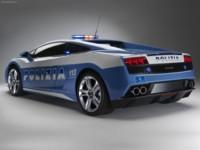 Lamborghini Gallardo LP560-4 Polizia 2009 poster