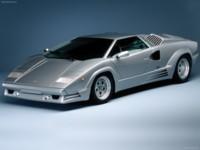 Lamborghini Countach 25th Anniversary 1989 poster