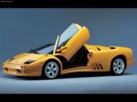 Lamborghini Diablo Roadster 1996 poster