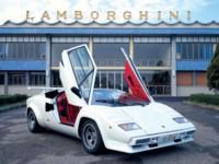 Lamborghini Countach Quattrovalvole 1985 poster