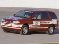 Oldsmobile Bravada Indy Pace Car 2002 poster