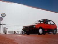 Subaru Justy 1984 poster