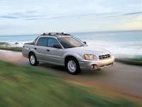 Subaru Baja Turbo 2005 poster