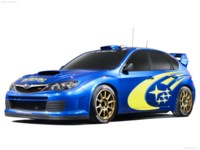 Subaru WRC Concept 2007 poster