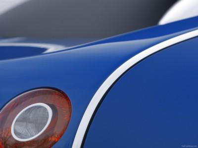 Bugatti Veyron Bleu Centenaire 2009 poster #575855