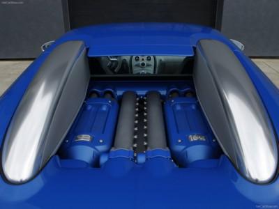 Bugatti Veyron Bleu Centenaire 2009 poster #575879