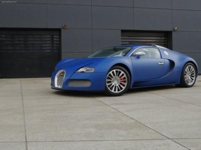 Bugatti Veyron Bleu Centenaire 2009 poster #575963