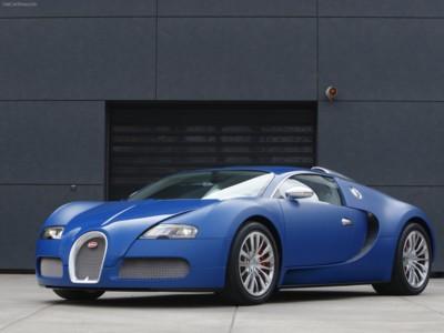 Bugatti Veyron Bleu Centenaire 2009 poster #575987