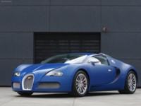 Bugatti Veyron Bleu Centenaire 2009 #575987 poster