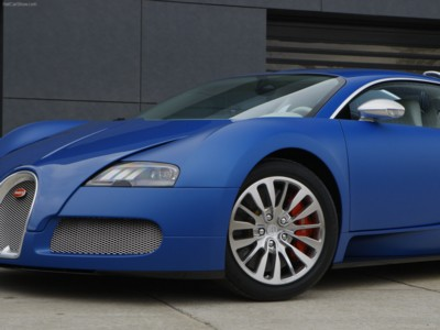 Bugatti Veyron Bleu Centenaire 2009 poster #576062