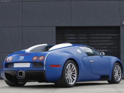 Bugatti Veyron Bleu Centenaire 2009 poster #576171