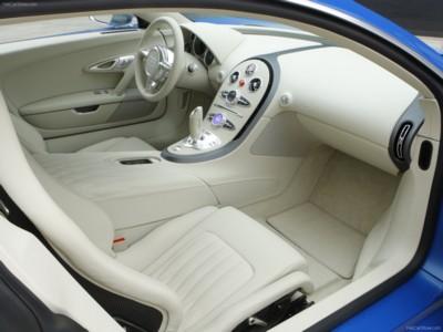 Bugatti Veyron Bleu Centenaire 2009 poster #576230