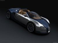 Bugatti Veyron Grand Sport Sang Bleu 2009 poster