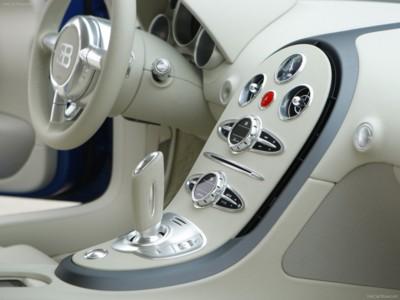 Bugatti Veyron Bleu Centenaire 2009 poster #576239