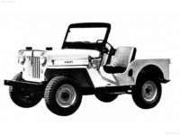 Jeep CJ-3B 1953 poster