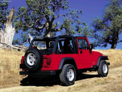 Jeep Wrangler Unlimited 2004 poster #578774