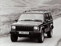 Jeep Cherokee UK Version 1993 poster