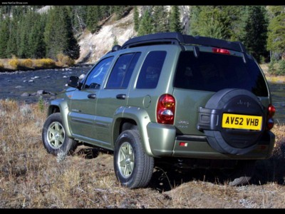Jeep Cherokee Renegade 2003 poster #578795