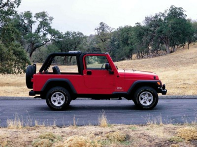 Jeep Wrangler Unlimited 2004 poster #578840