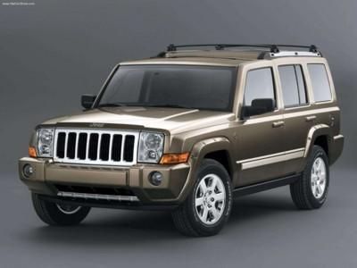 Jeep Commander 4x4 Limited 5.7 HEMI 2006 poster #578867