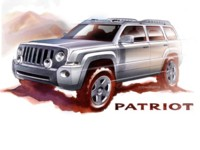 Jeep Patriot Concept 2005 poster