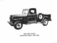 Jeep Pickup Truck 1947 poster