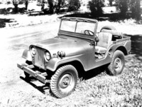 Jeep M-38 A1 1955 poster