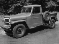Jeep 4WD 1-Ton Pickup Truck 1954 poster