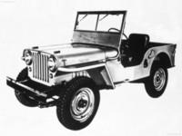 Jeep CJ-2A 1945 poster