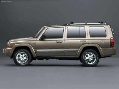 Jeep Commander 4x4 Limited 5.7 HEMI 2006 poster #578945