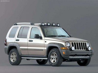 Jeep Liberty Renegade 3.7 2005 poster #579005