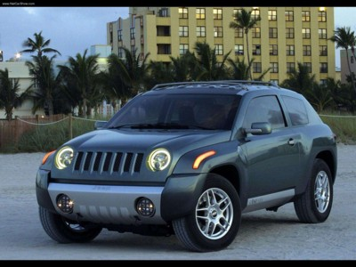 Jeep Compass Concept 2002 poster #579015