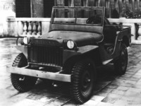 Jeep Willys MA 1941 poster