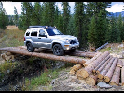 Jeep Cherokee Renegade 2003 poster #579068