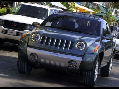 Jeep Compass Concept 2002 poster #579075