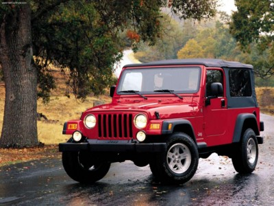 Jeep Wrangler Unlimited 2004 poster #579094