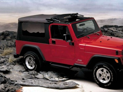 Jeep Wrangler Unlimited 2004 poster #579104